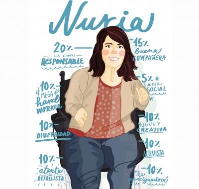 Nuria Embid Marco, trabajadora social de Espacio Ítaca
