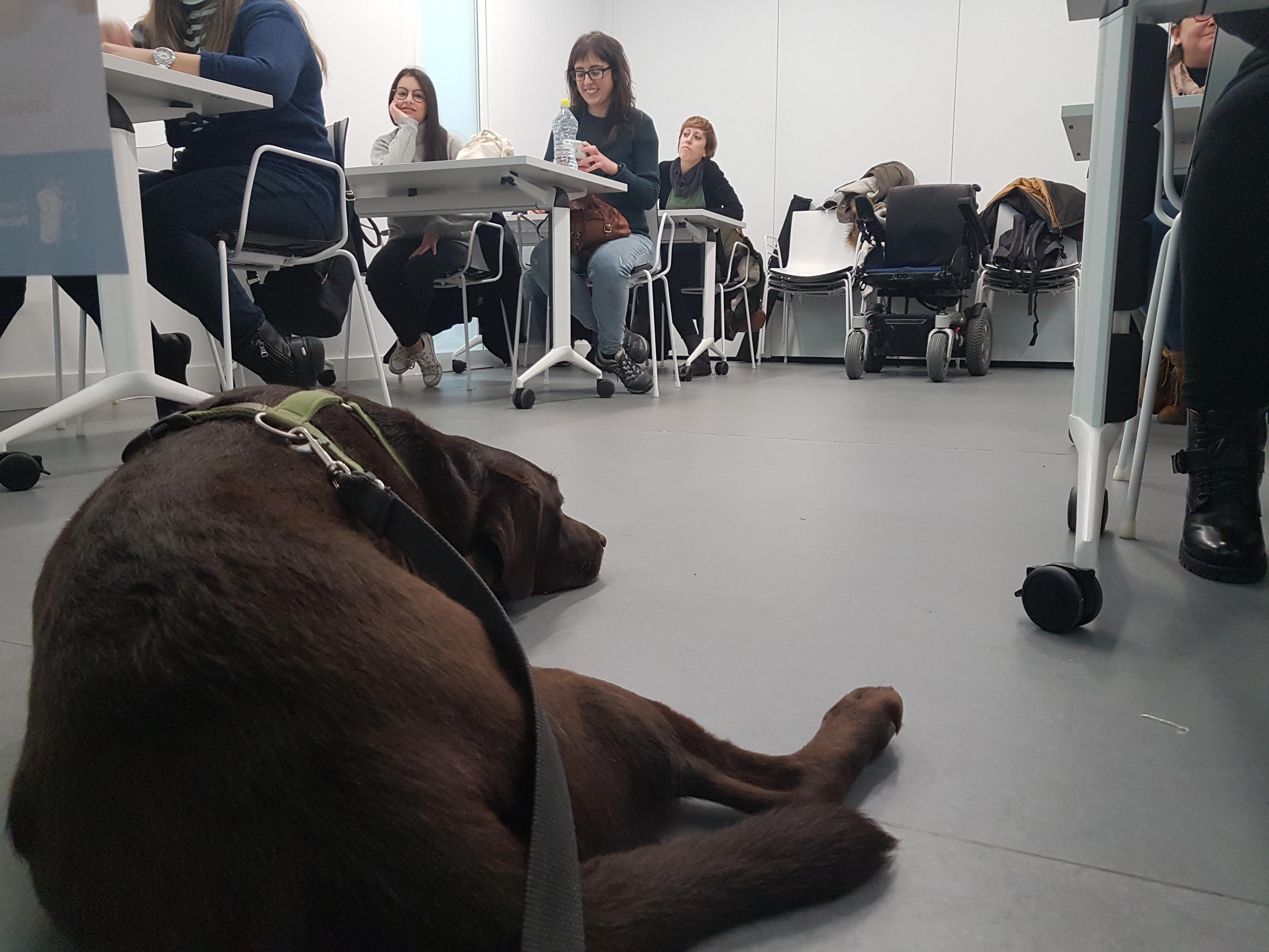 Salsa tumbada en clase