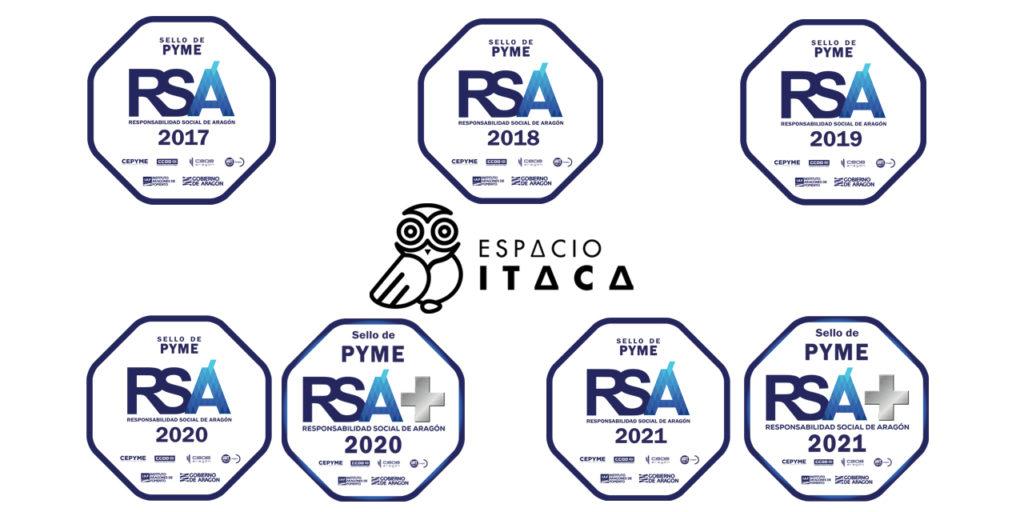 Todos los Sellos RSA recibidos desde 2016